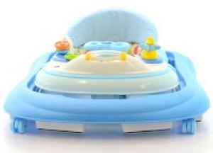 Euro Baby Multifunkčné chodítko - modré/sv. modré