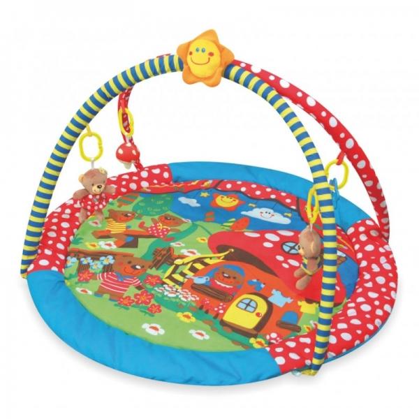 Hrací deka Baby Mix - Muchotrávka