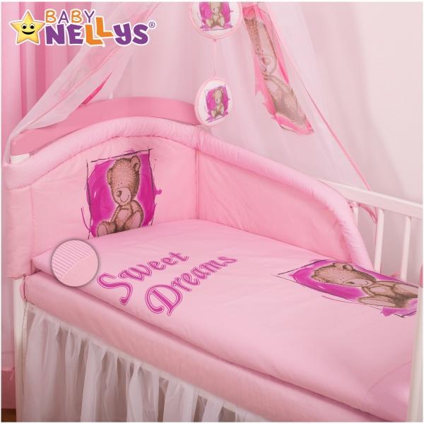 Obliečky Sweet Dreams by Teddy - růžový