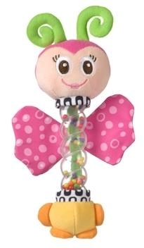 Motýľ s hrkálkou Playgro