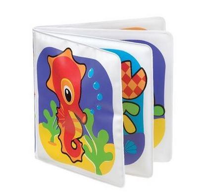 Mäkká knižka do vody Playgro