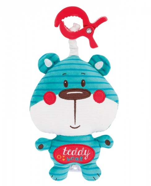 Plyšová hračka s melódiou a klipom Forest Friends - medvedík