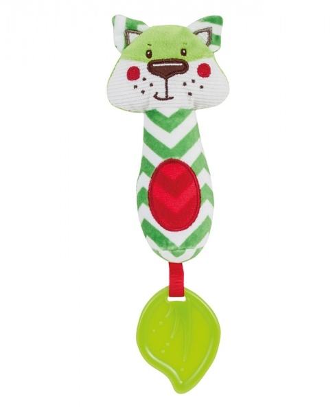 Plyšová hračka s hryzátkom a pískátkem Forest Friends - líška