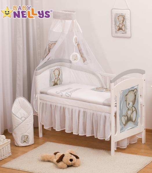 Baby Nellys Sifónové nebesia Sweet Dreams by TEDDY - sivé/biele