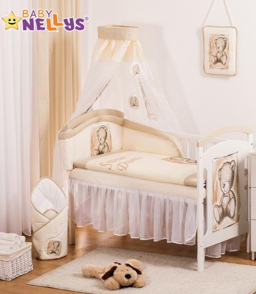 Baby Nellys Sifónové nebesia Sweet Dreams by TEDDY - piskové/biele