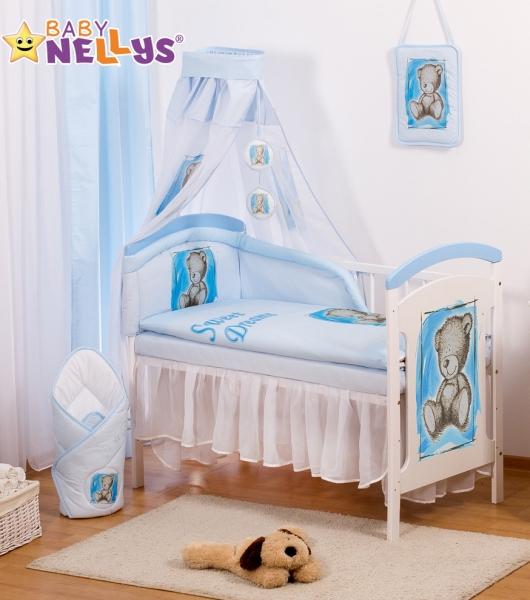 Baby Nellys Sifónové nebesia Sweet Dreams by TEDDY - modré/biele