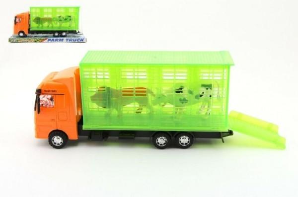 Auto prepravník zvierat plast 30cm na zotrvačník v krabici