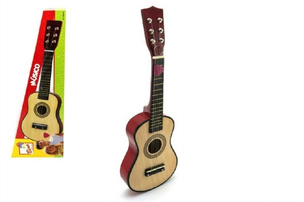 Teddies Gitara drevo 57cm v krabici