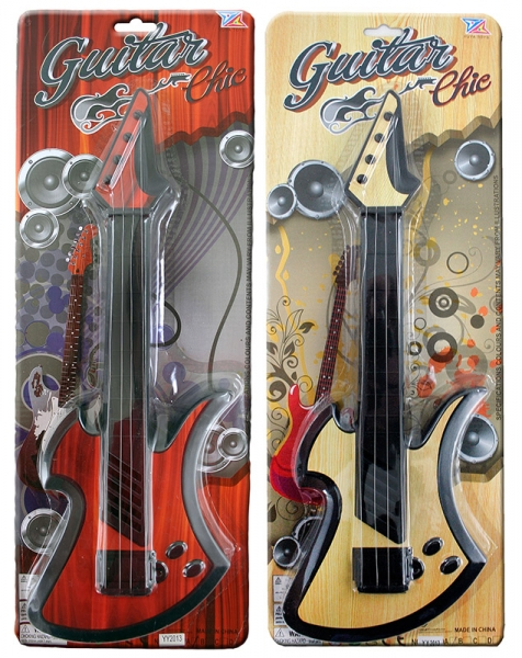 Gitara ROCK detská 2 druhy