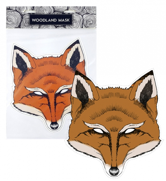 Rappa Maska papierová, líška