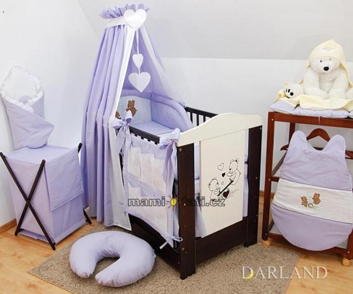 Luxusný 5D set výšivka CL - Méďové vo fialovej
