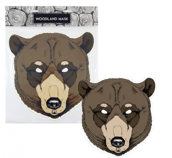 Rappa Maska papierová, medveď