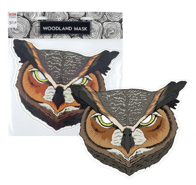 Rappa Maska papierová, sova