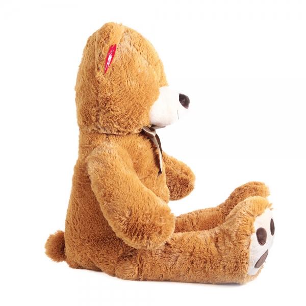 Rappa Plyšový medveď 100 cm, hnedý