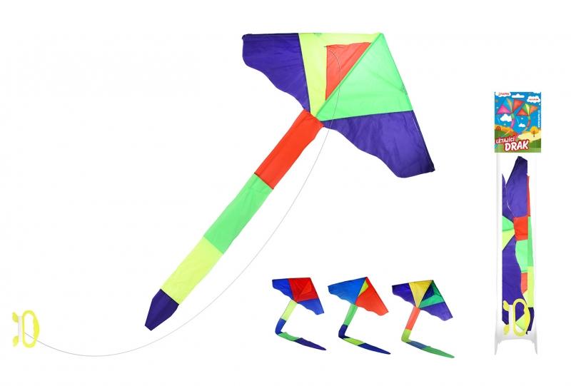 Rappa Drak lietajúci nylonový 115 x 50cm