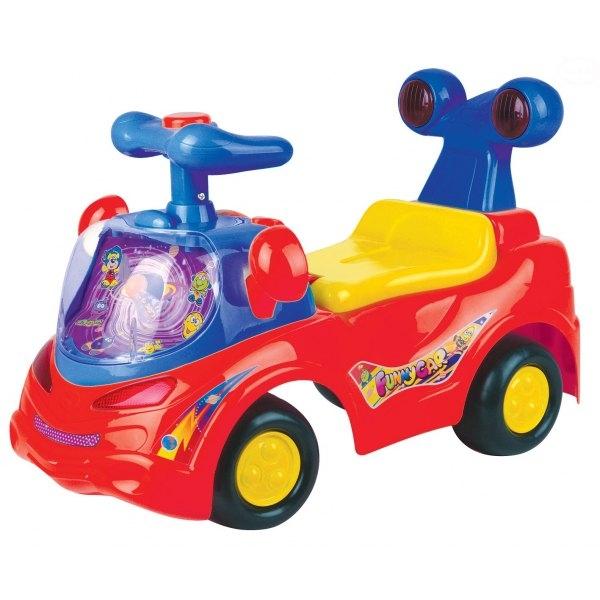 Euro Baby Odrážadlo, jezdítko - FUNNY CAR - červené