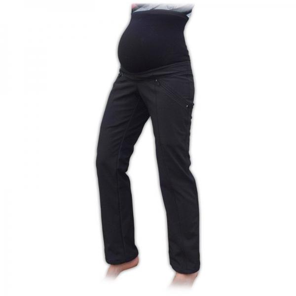Športové tehotenské zateplené softshellové nohavice