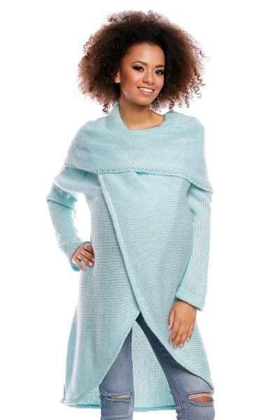 Dlhý sveter JESSIE - mätový