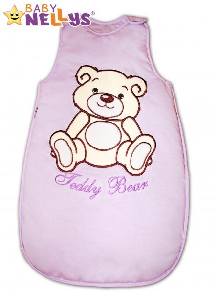 Spací vak Medvedík Teddy Baby Nellys - lila vel. 1