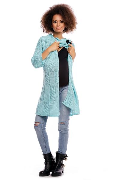 Dlhý sveter HANNE - mätový