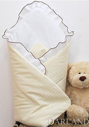 Darland Krásna zavinovačka s volánikom - Medvedík so srdiečkom kostička kr