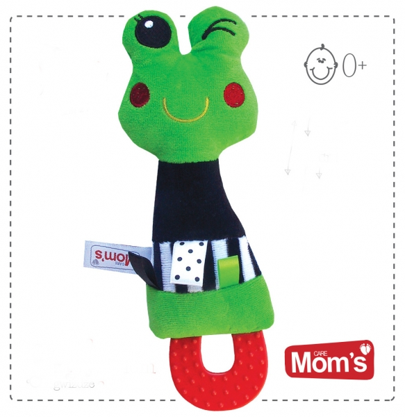 Edukačních hračka Hencz s pískátkem, kousátkem ŽABKA