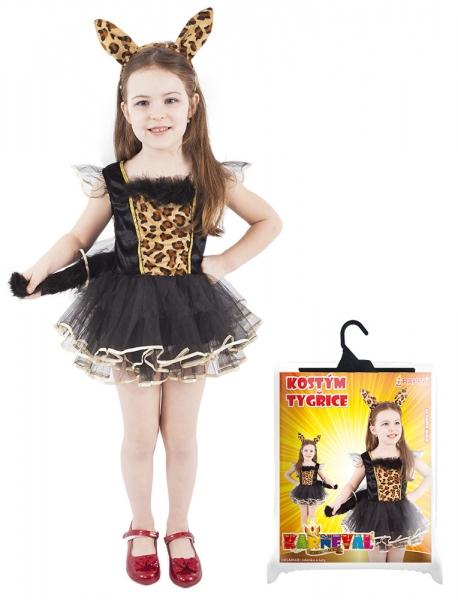 Rappa Karnevalový kostým tigrica vel. M