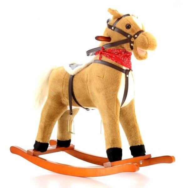 Hojdací koník - sv. hnedý