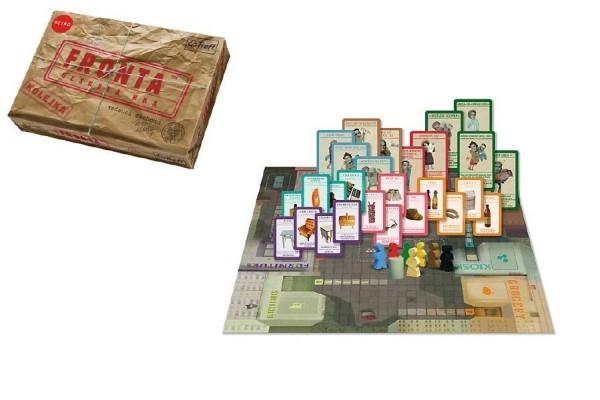 Teddies Fronta - Čakanie vo fronte spoločenská hra v krabici 36x25x6cm