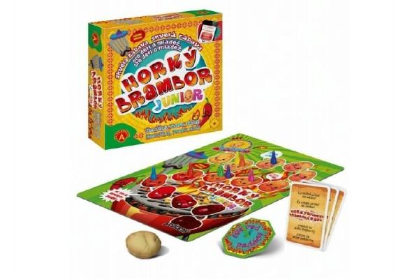 Horúci zemiak Junior spoločenská hra v krabici 24x25x6cm