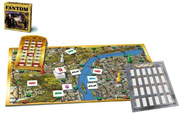 Teddies Fantóm spoločenská hra Gold edition v krabici 25x25x6,5cm