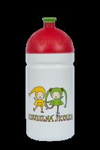 Zdravá láhev - 0.5l - Kouzelná školka, biela