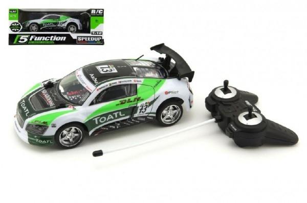 Teddies Auto RC 25cm plast zrýchľujúce 1:18 na batérie 27MHz v krabici