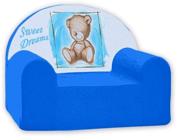 Detské kresielko Nellys ® - Sweet Dreams by Teddy - modrá