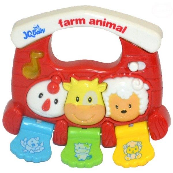 Euro Baby Interaktívna hračka s melódiu - MALÁ FARMA