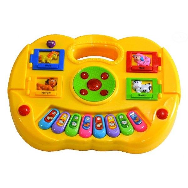 Euro Baby Edukačná hrajúci hračka - žltá