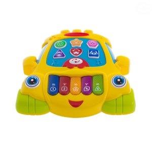 Euro Baby Edukačná hrajúci hračka Autíčko - žluté