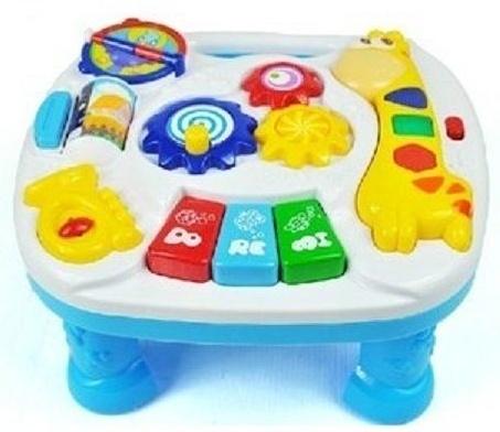 Euro Baby Detský hrajúci stolček - žirafka