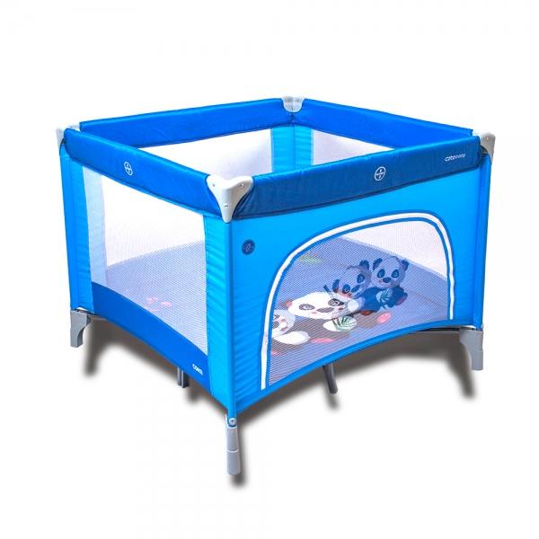 Coto Baby Skladacia ohrádka Conti - modrá