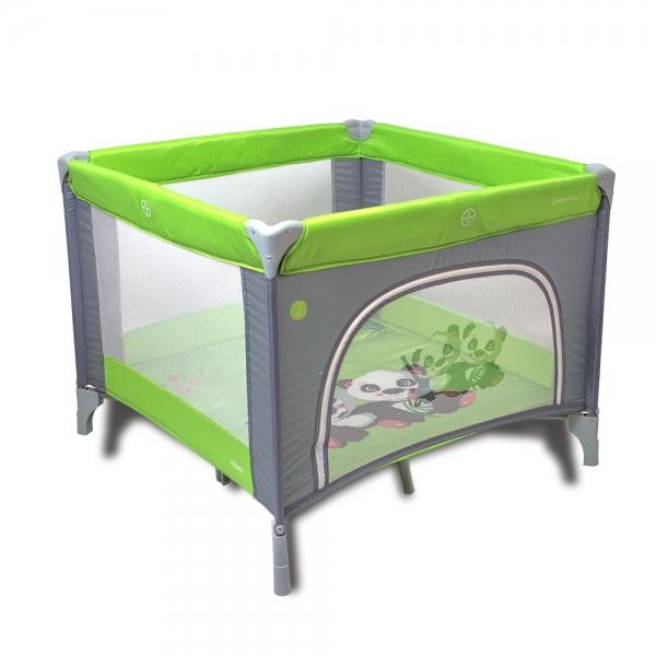 Coto Baby Skladacia ohrádka Conti - zelená