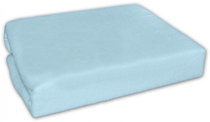 Baby Nellys Jersey plachta modrá 90x90