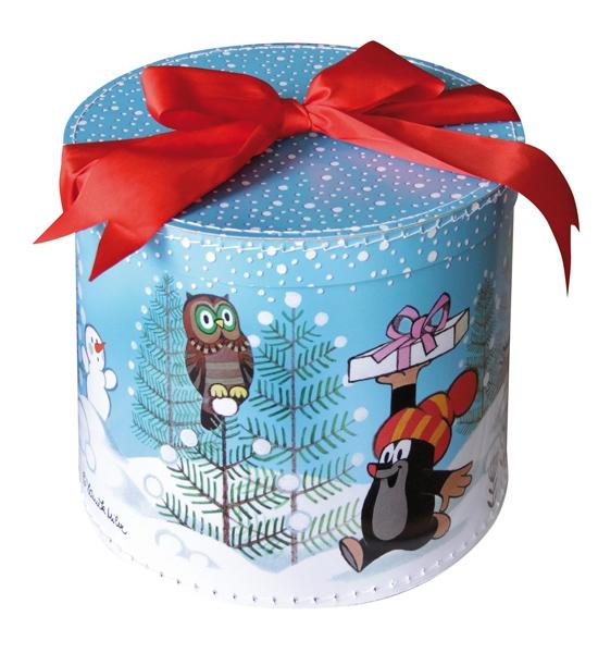 Krabica guľatá - Krtko zima, veľká