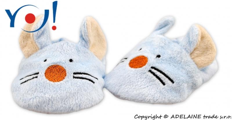 Topánočky /capáčky YO! Zvieratka - Myška-6/12měsíců