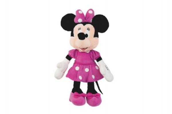 Teddies Minnie ružové šaty plyš 23cm 0m +