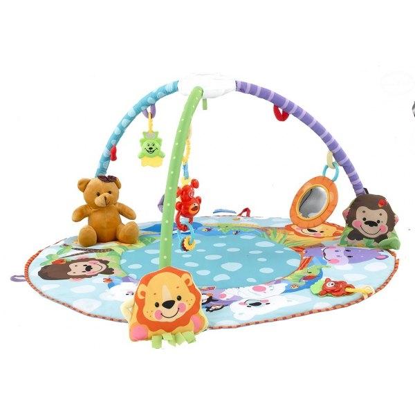 Hracia deka s melódiou - Zvieratka/medvedík