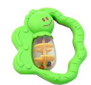 Hrkálka Motýľ Canpol Babies - zelené