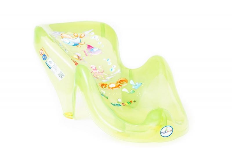 TEGA BABY - Ležadlo plastové do vaničky - AQUA