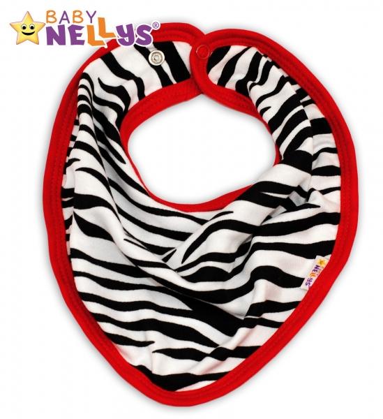 Bavlnený šátok ZEBRA Baby Nellys ®