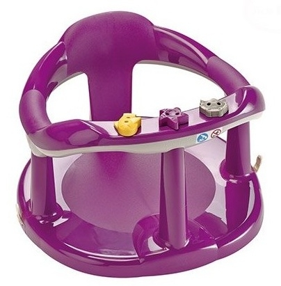 Thermobaby sedátko do vane Aquababy - fialové