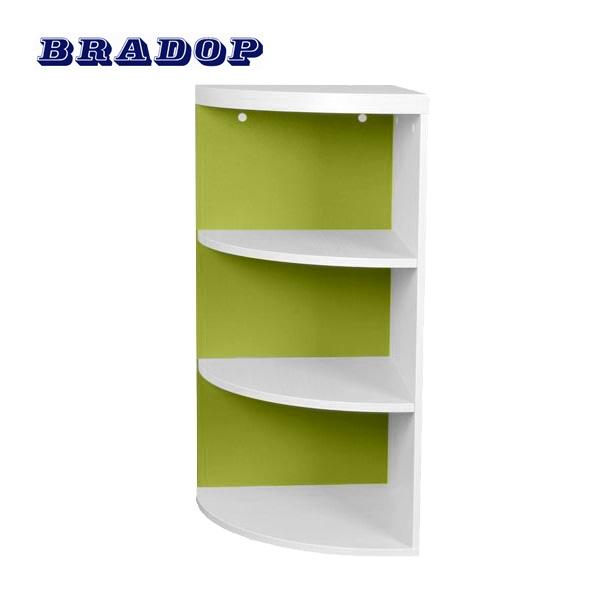 Rohová skrinka zelená, C 117